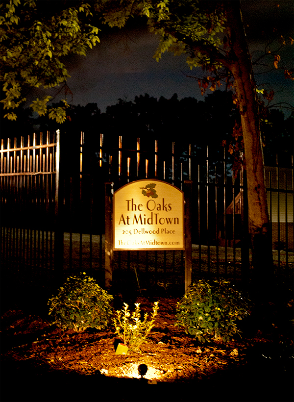 Gated Entrance Sign