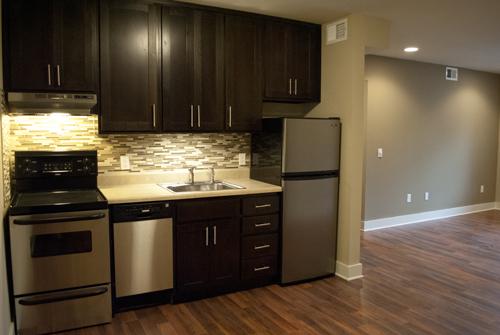 Tan Palette - Kitchen/Living Room