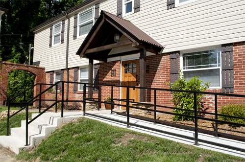 ADA Unit - Wheelchair Ramp